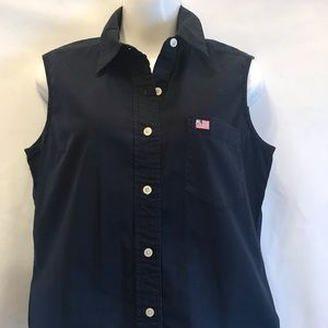 Polo Jeans Co Ralph Lauren Sleeveless Top Size Med
